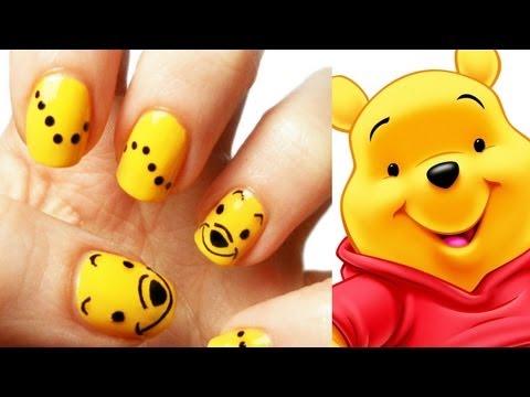 Winnie the Pooh Nail Art Tutorial