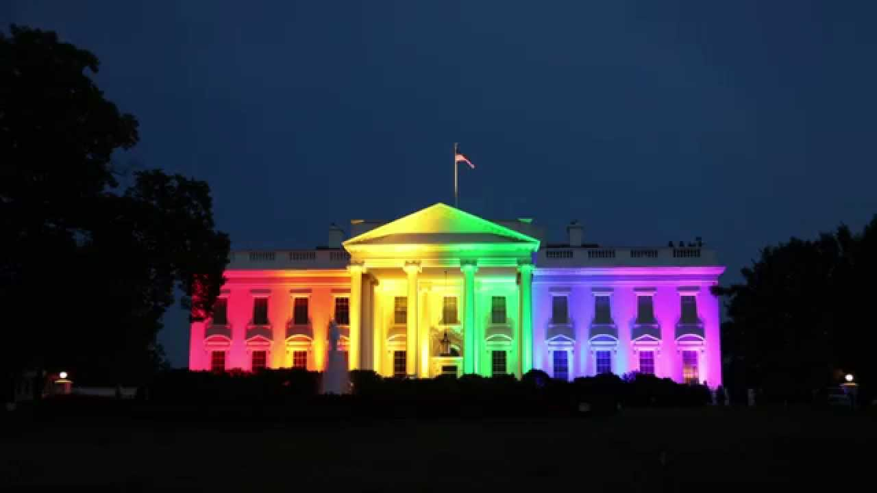 Time-Lapse of The White House on June 26th 2015