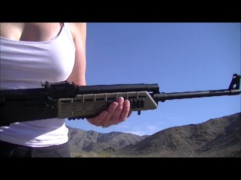 .308 win and 7.62mm ammo test #1 with Saiga 308