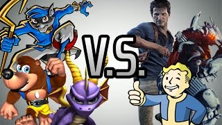 3D Platformers vs. Games of Today: Which is Better?