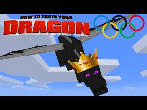 Minecraft - HOW TO TRAIN YOUR DRAGON - Dragon Olympics # 7 'FINAL GAME'