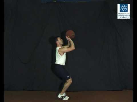 Basketball jump shot slow motion video online