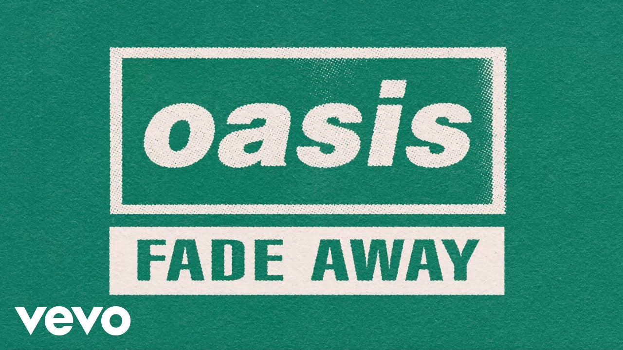 "Oasis - ""Fade Away""のOfficial Lyric Videoを公開 「Definitely Maybe」(25th Anniversary)アナログ盤(Picture Disc) 2019年8月30日発売予定 thm Music info Clip"