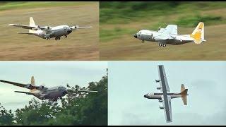 RC C-130H Maiden Flight