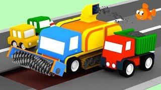 Cartoon Cars - TARMAC TRUCK! - Cartoons for Children - Videos for Kids
