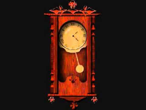 Grandfather Clock Ticking video