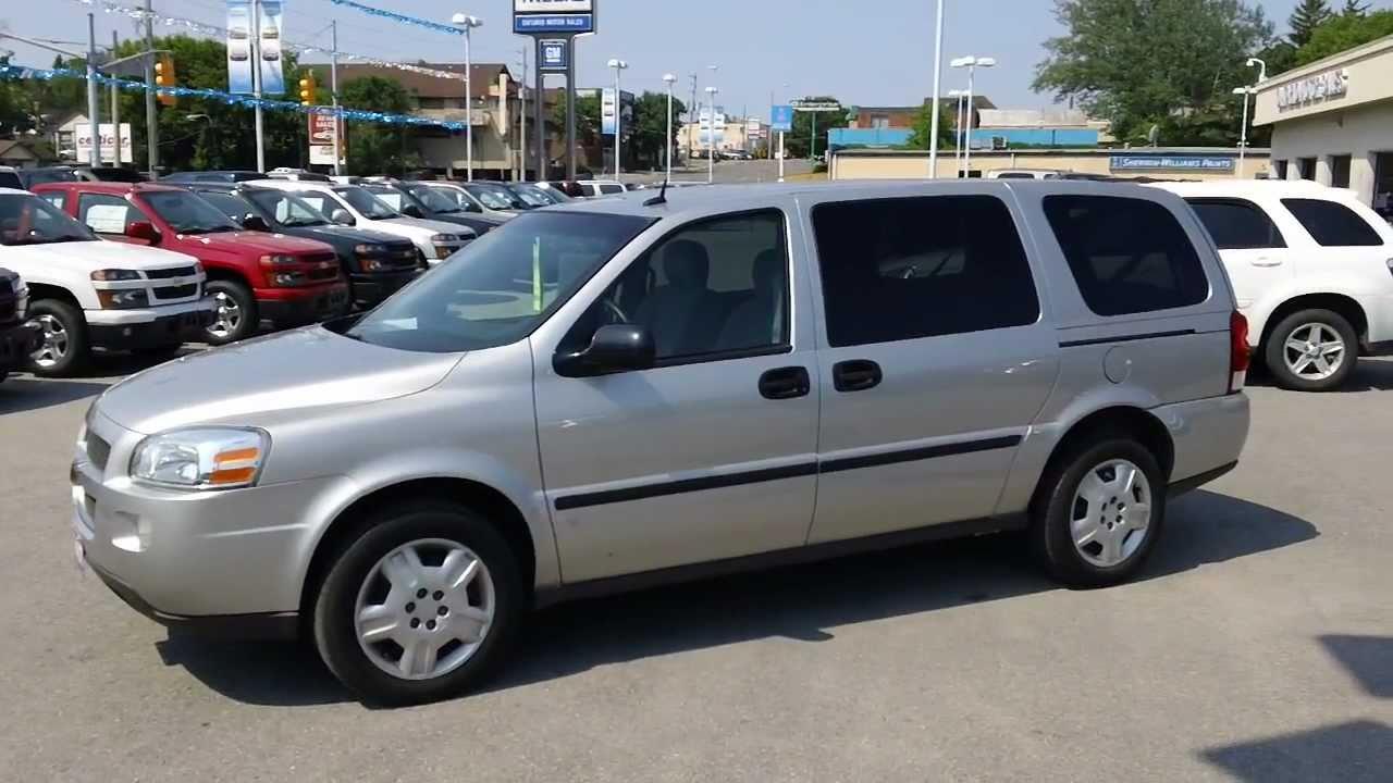 2007 Chevrolet Uplander Extended 7 Passenger Van