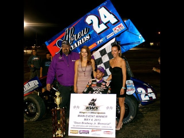 """23rd Dave Bradway Jr. Memorial"" Silver Dollar Speedway - King of the West Sprint Car Series"