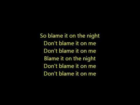 Blâme  Calvin Harris ft John Newman Lyrics
