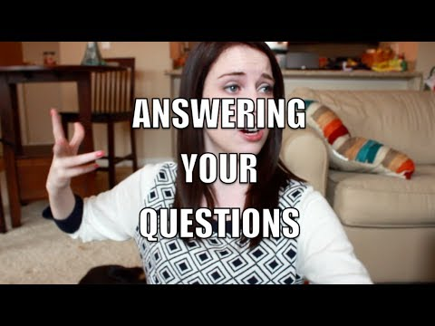 Answering Your Questions