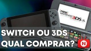 NINTENDO SWITCH OU 3DS? QUAL COMPRAR?