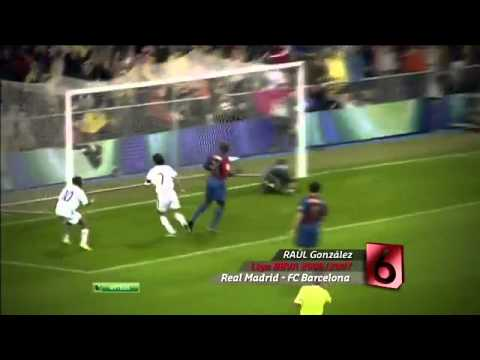 Top 10 Goals In El Classico (HD)