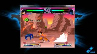 GAMEPLAY DRAGON BALL Z M.U.G.E.N 2011 PC [ + Descarga ]
