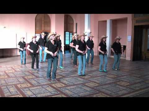 MARY MARY - line dance - NEW SPIRIT Of Country Dance