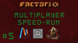 EP5: Blast Off! | Factorio Multiplayer Speedrun With Patrons