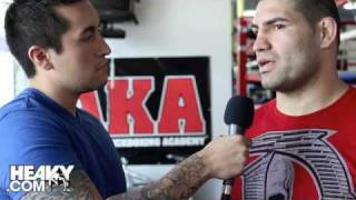 Cain Velasquez Talks Brock Lesnar, Bobby Lashley and more
