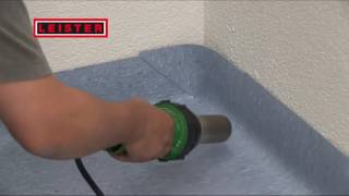 Welding floor with Leister ELECTRON   YouTube 480p