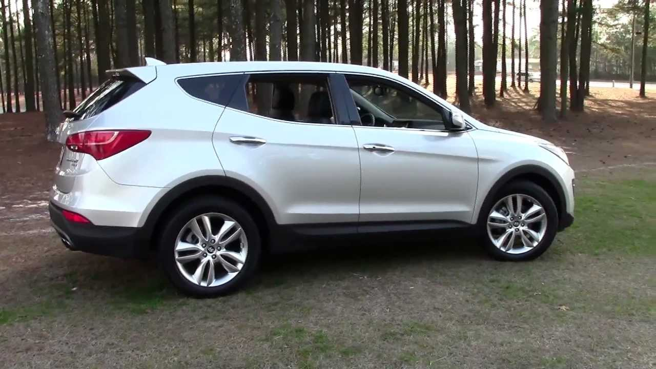 2013 Hyundai Santa Fe Sport Awd 2 0t Cuv Detailed