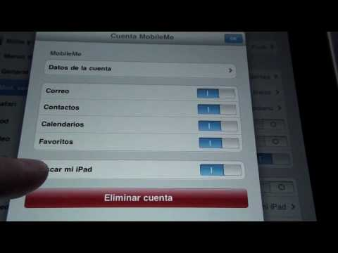 Sincroniza Agenda, Calendarios con el iPad