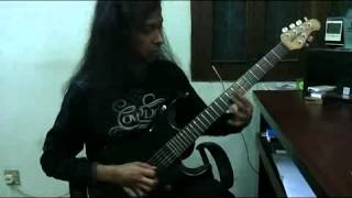 Guitar Shredding of Ibrahim Ahmed Kamal..( Guitarist of Warfaze & Aurthohin)