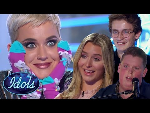 MIND BLOWN! AMAZING 18 And UNDER Auditions On American Idol 2018! Harper Grace, Noah Davis  More