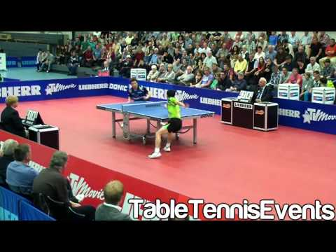 Chuang Chih Yuan Vs Ryu Seung Min: Match 2 [German league 2012/2013]