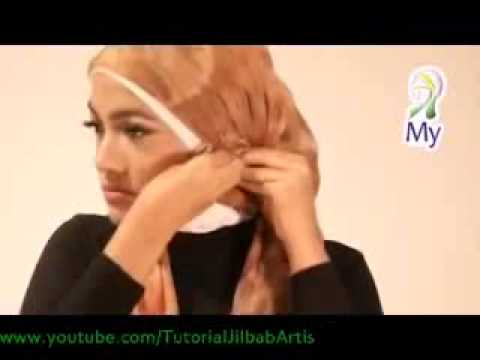 Tutorial Jilbab Modern MY03 Hijab Tutorial 04