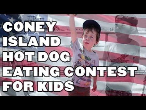 Coney Island Hot Dog Eating Contest Tv
