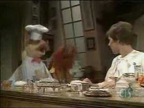 "Animal and the Swedish Chef sing a raucous ""Happy Birthday to You"" in Helen's dressing room; when she says it's not her birthday, they switch to ""Jingle Bell..."
