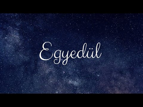 MECKS - EGYEDÜL (OFFICIAL LYRIC VIDEO)