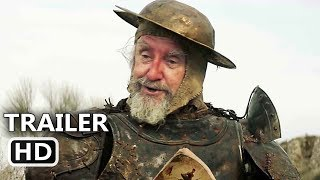 THE MAN WHO KILLED DON QUIXOTE Official Trailer (2018) Adam Driver, Terry Gilliam Movie HD