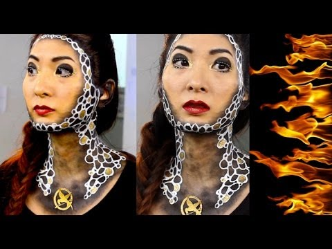 CATCHING FIRE Inspired Makeup with a VEry Special Guest!!!