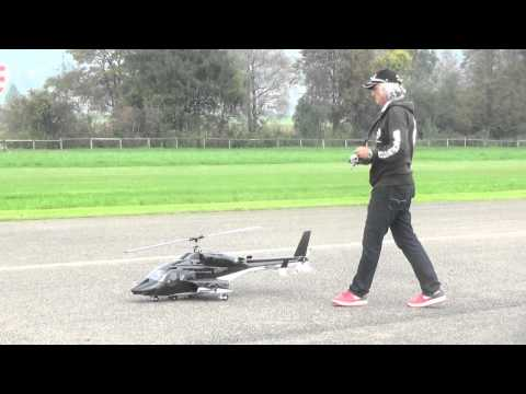 Rc Scale Airwolf Helicopter-The Pilot Is Hugo Markes