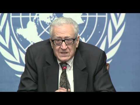 Syrian Geneva Talks - Ibrahimi