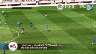 FIFA 11 | Arsenal vs. Chelsea full gameplay trailer (2010)