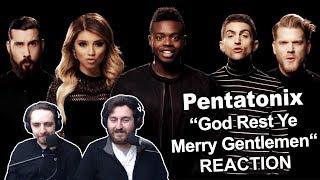 34 Pentatonix God Rest Ye Merry Gentlemen 34 Singers Reaction