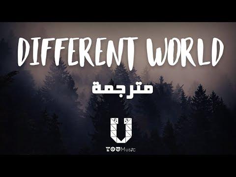 Alan Walker - Different World (مترجمة) Feat. Sofia Carson, K-391 & CORSAK