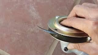 Bác nào mới dùng và muốn thay dao bằng  bát cước có thể tham khảo thêm
