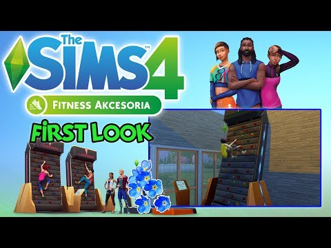 "First Look #71: The Sims 4: Fitness - ""Tańcz Plumbombę!"" [PL]"