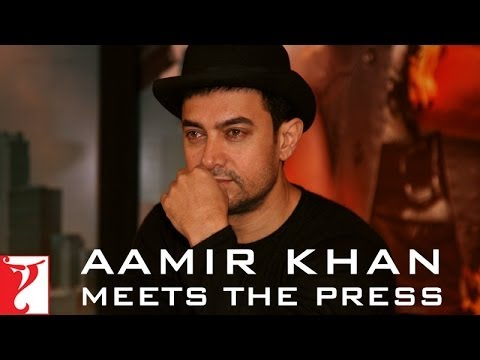 Aamir Khan Meets The Press - DHOOM:3