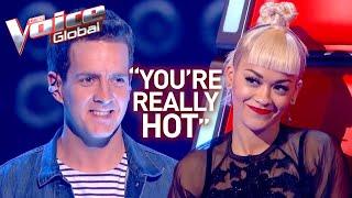 FIREFIGHTER sets RITA ORA's heart on fire in The Voice   Winner's Journey #20
