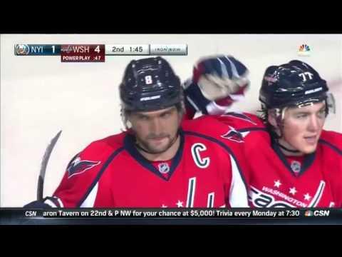 Нью-Йорк Айлендерс 2 - 6 Вашингтон Кэпиталз   НХЛ   04.10.2015   Обзор матча