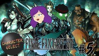 Final Fantasy VII Part 5 - Everyone Likes Milkshake - CharacterSelect