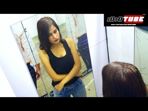 MMS In Trial Room/Changing Room - Cam Scam #BeAware (Social Experiment) - iDiOTUBE