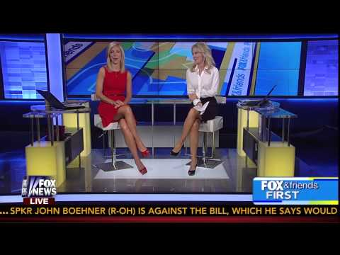 Ainsley Earhardt &  Heather Childers 11-7-2013