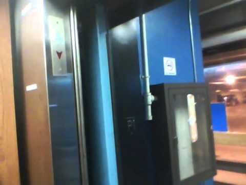 Millar Hydraulic Elevator at the Student Center, Naugatuck Valley Community College, Waterbury CT