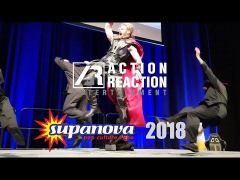 Infinity @ Supanova Gold Coast 2018 | Action Reaction Entertainment