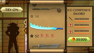 Shadow Fight 2 The Most Powerful Ice Composite Sword
