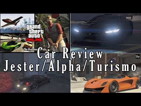 GTA 5 Business DLC Car Review/Customization/Road Test (Jester/Albany Alpha/Turismo R)