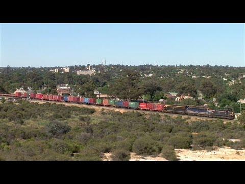 Empty Pota Train At White Hills.  Mon 05 12 11 video